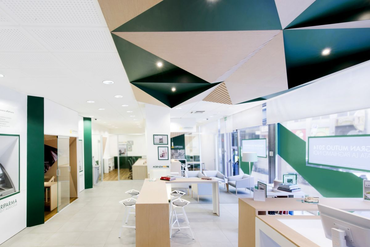 My House Bank For Cariparma Crédit Agricole By Dinn!, Milan Italy    Retailand Office Design