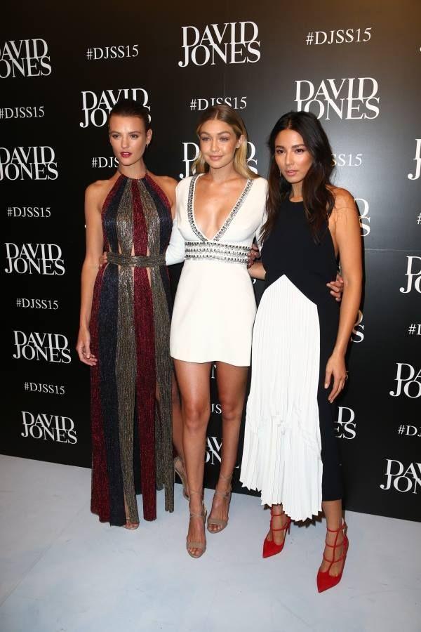 Gigi Hadid Style: Guess by Marciano White Mini Dress   Pinterest