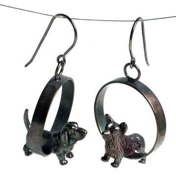Dog Earrings By Kristin Lora If Only I Could Wear Pierced