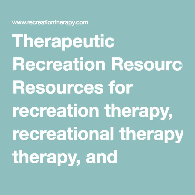 Therapeutic Recreation Resources For Recreation Therapy - Activities Therapist Cover Letter