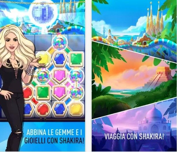 Love Rocks starring Shakira: nuovo match-3 game dagli autori di Angry Birds