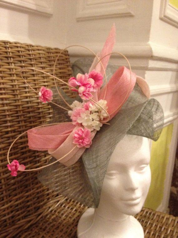 haute couture économiser jusqu'à 80% Clairance de 60% bibi chapeau de mariage rose et vert bleu | Head's Up! en ...