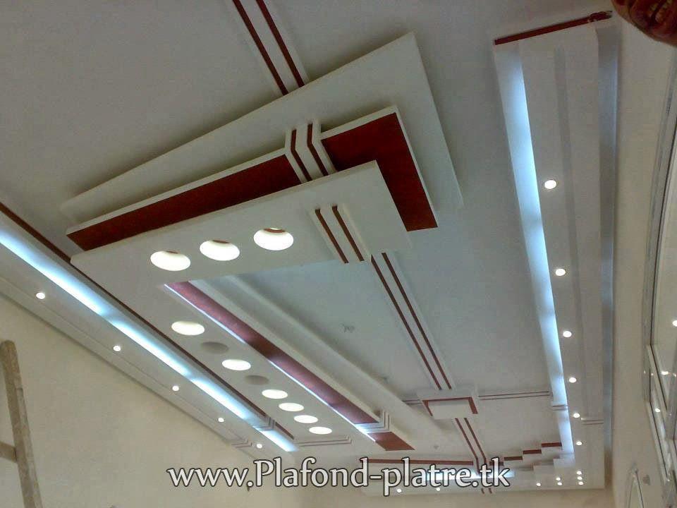 Faux plafond suspendu moderne 2013 | Salon Marocain Moderne 2014 ...
