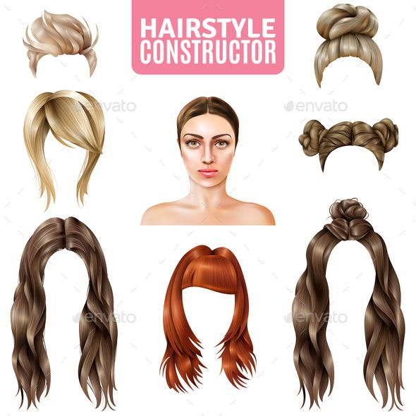 hairstyles women constructor