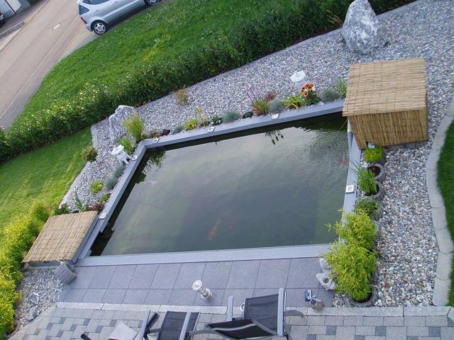 Unser kleiner Koiteich wwwkoiforumbboardde Garten - Pool - gartenanlagen mit wasser