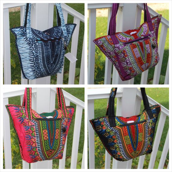 African Purse, African Bag, African Fabric, Dashiki Purse, Dashiki ...