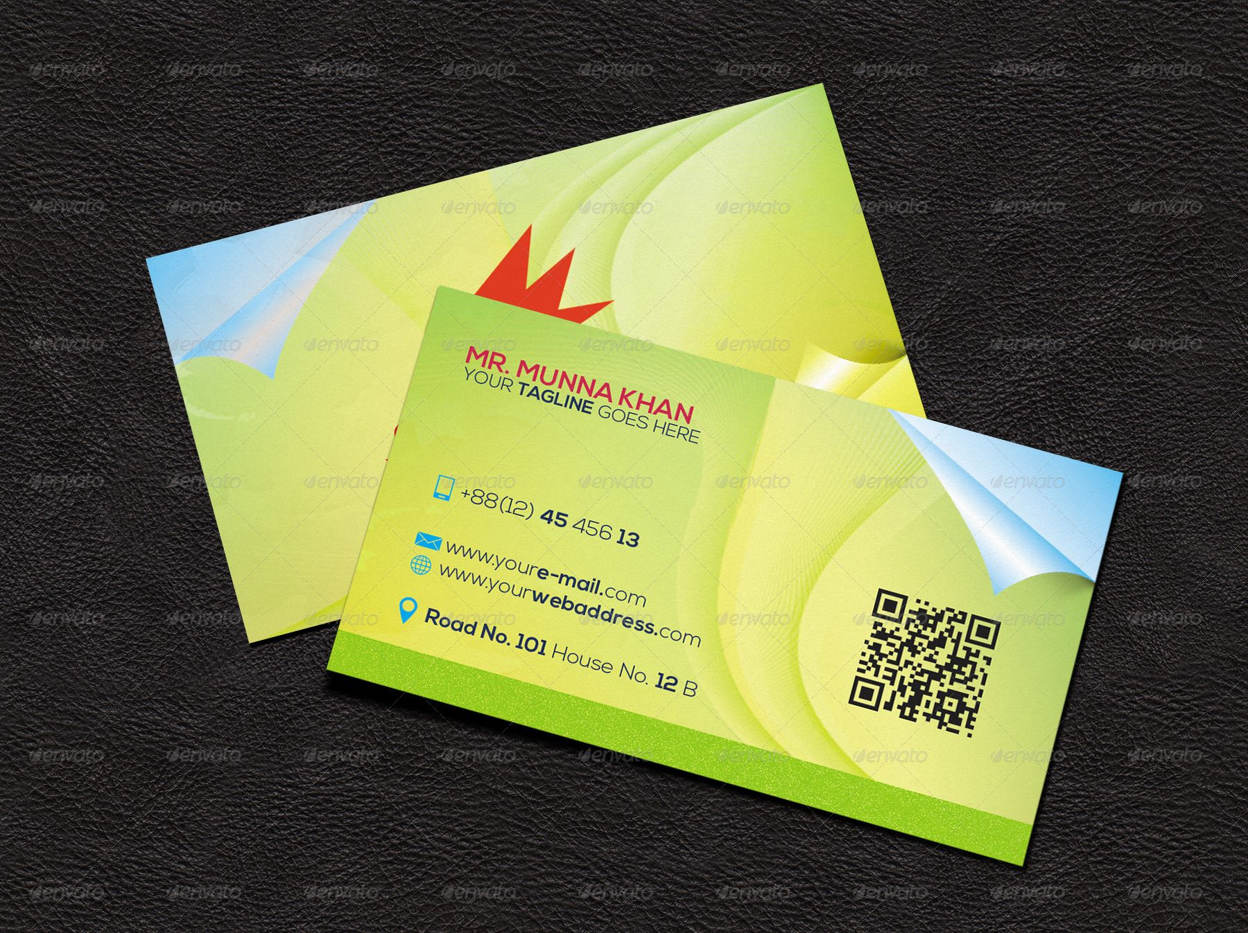 Simple Creative Business Card Template Gl2417 With Images