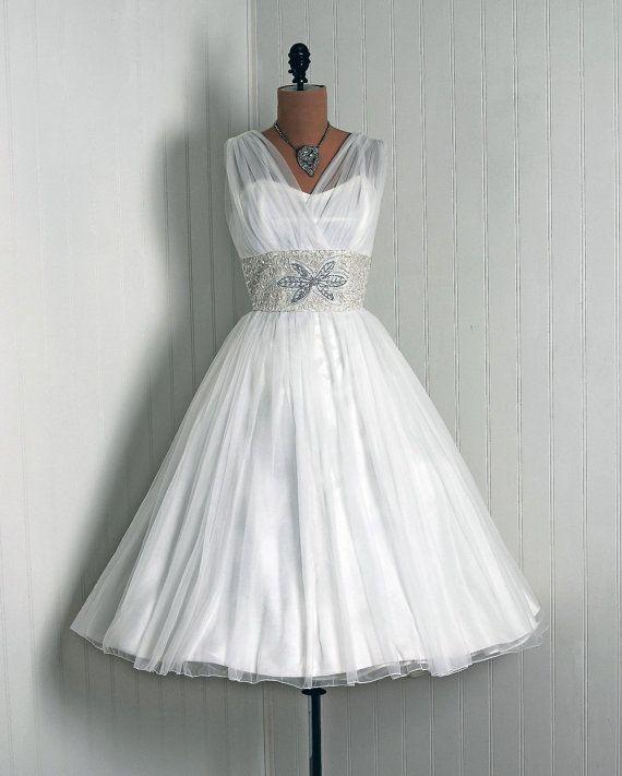 1950's Vintage Emma Domb I LOVE This Wedding Dress