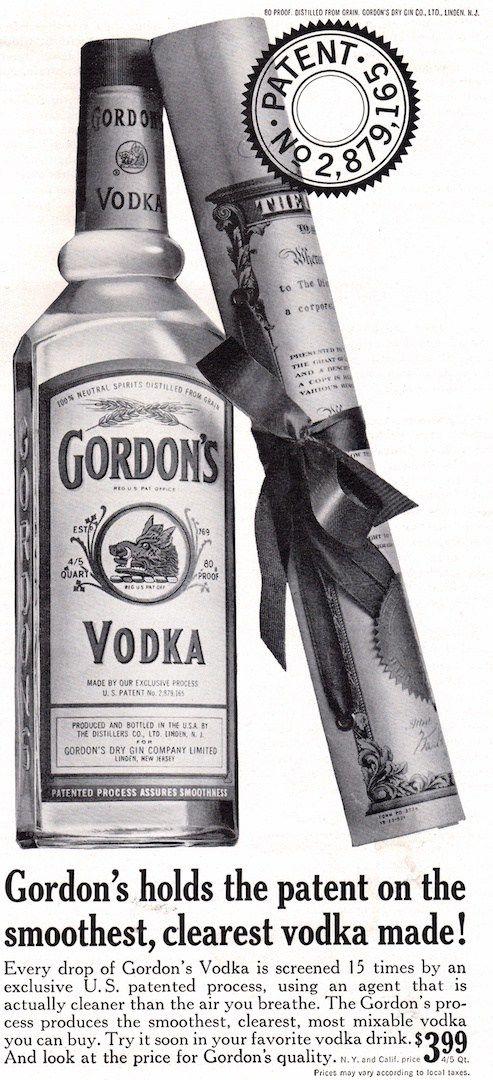 Gordon S Holds The Patent Med Billeder