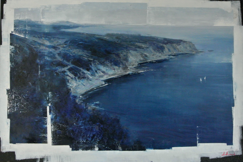 Alexey Alpatov. Oil, canvas. 70x110. 2012. In private collection. #alpatov #seascape #oilpainting