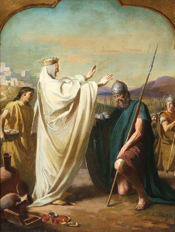Melchizedek Blessing Abraham L Glotzle Cristo