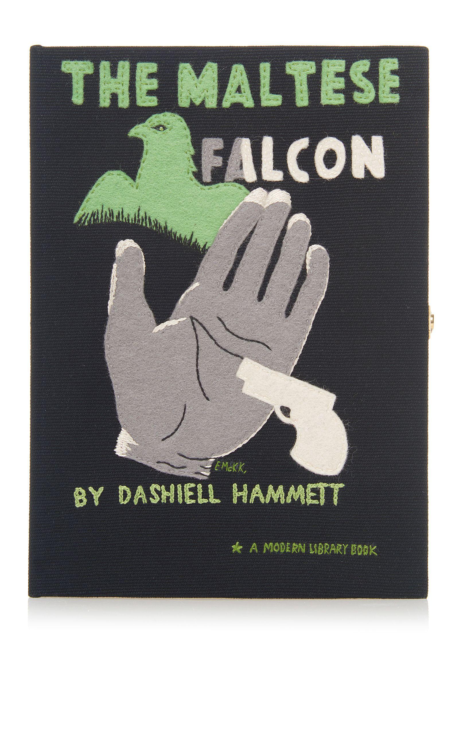 Olympia Le Tan The Maltese Falcon Book Clutch The Maltese Falcon Book Book Clutch Olympia Le Tan