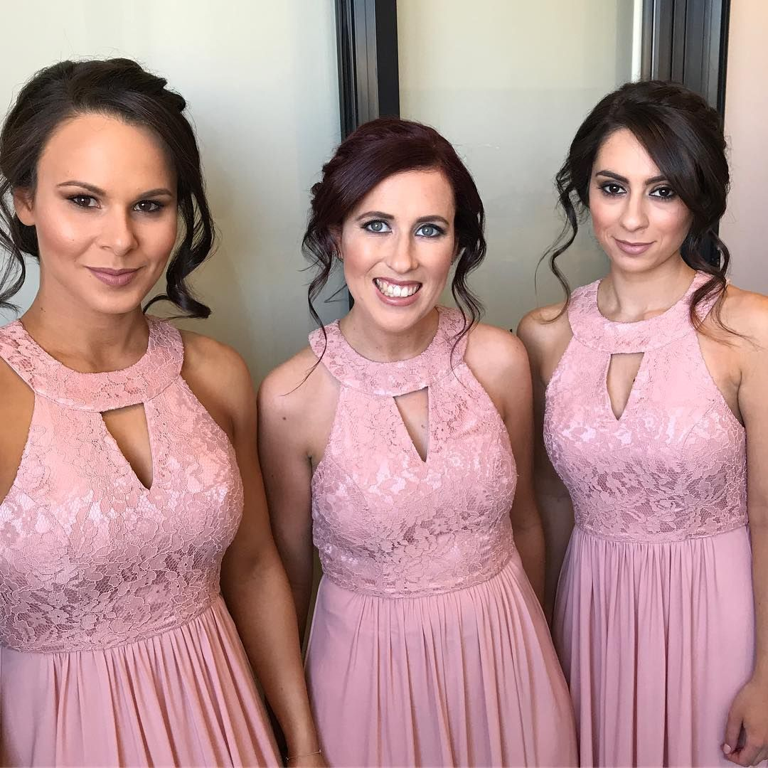 BRIDESMAIDS ✨ | makeup by me | hair by @kwhairstylist ...