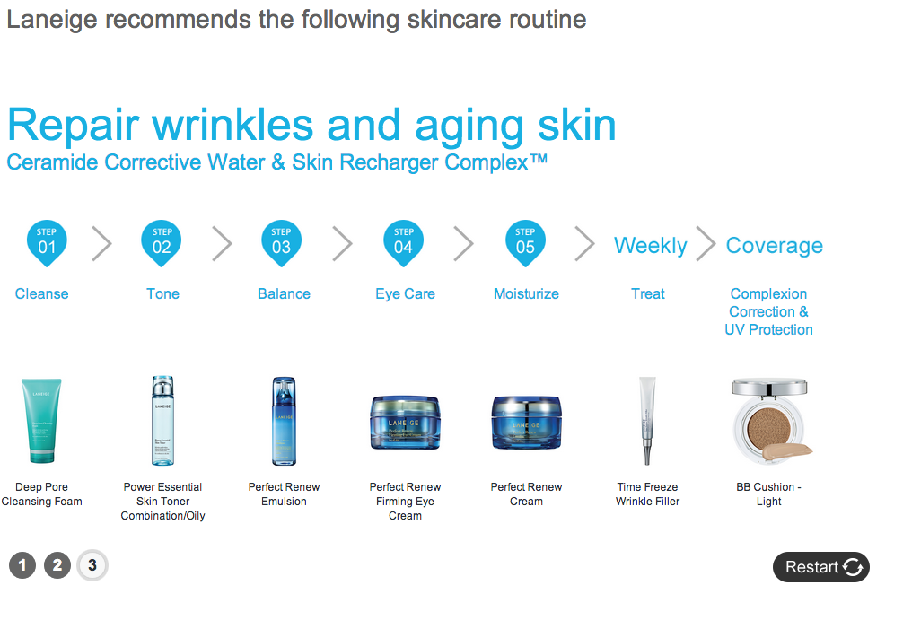 Laneige Recommends The Following Skincare Routine For Oil Combination Skin