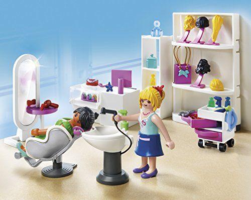 Playmobil City Life Beauty Salon 5487 67 Pieces Playmobil Play Mobile Playmobil Deutschland
