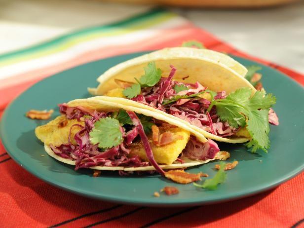 West Virginia Trout Tacos Recipe Food Network Recipes Food Food Recipes
