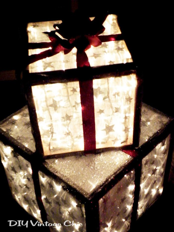 Creative Front Porch Christmas Decor | Share Your Craft | Pinterest ...
