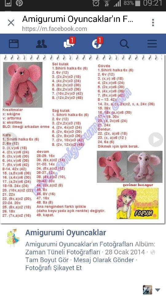 Pin von nil ay auf oyuncaklar | Pinterest | Häkelanleitung kostenlos ...