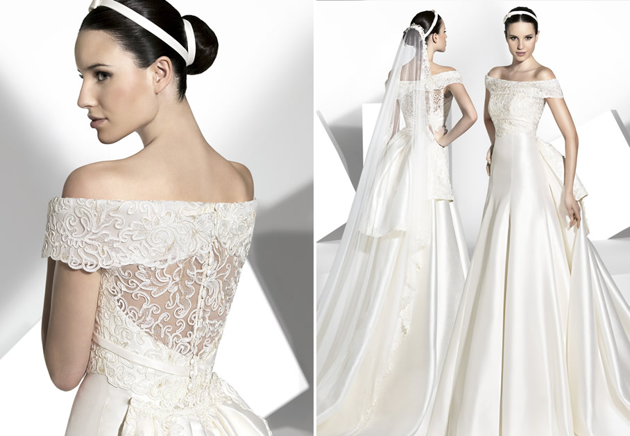 2013 wedding dress Franc Sarabia bridal gowns Spanish designers 15 ...