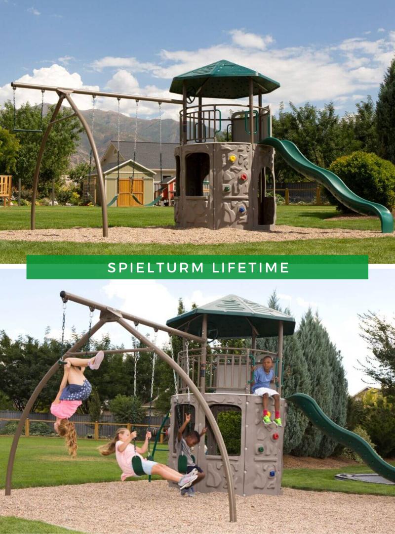 Spielgerat Garten Spielturm Lifetime Spielturm Turm Kinderspielplatz Garten