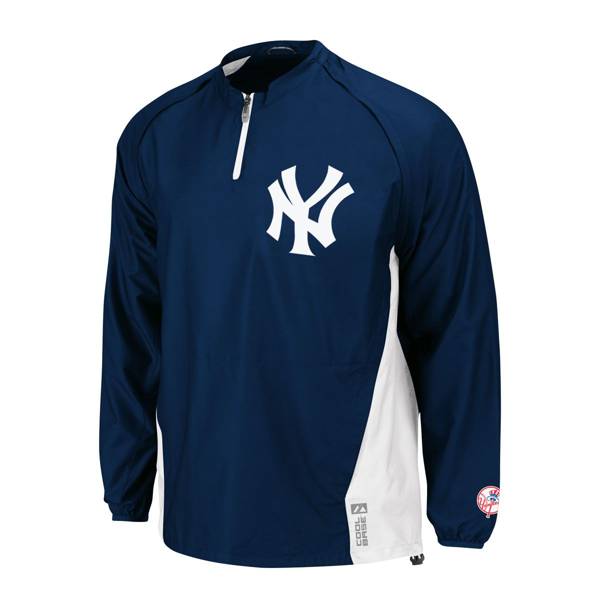 New York Yankees Authentic Cool Base Triple Peak Gamer Mlb Baseball Jacket Home Icejerseys Com Usa Off New York Yankees New York Yankees Logo Mlb Apparel