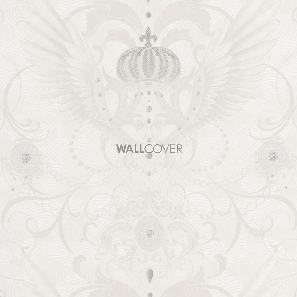 Glööckler - Deux – Marburg non-woven wallpaper  – Colors in white, beige, cream now at wallcover.com! ✔ Fast and secure Delivery ✔ Free Shipping for an Order Value over 200€