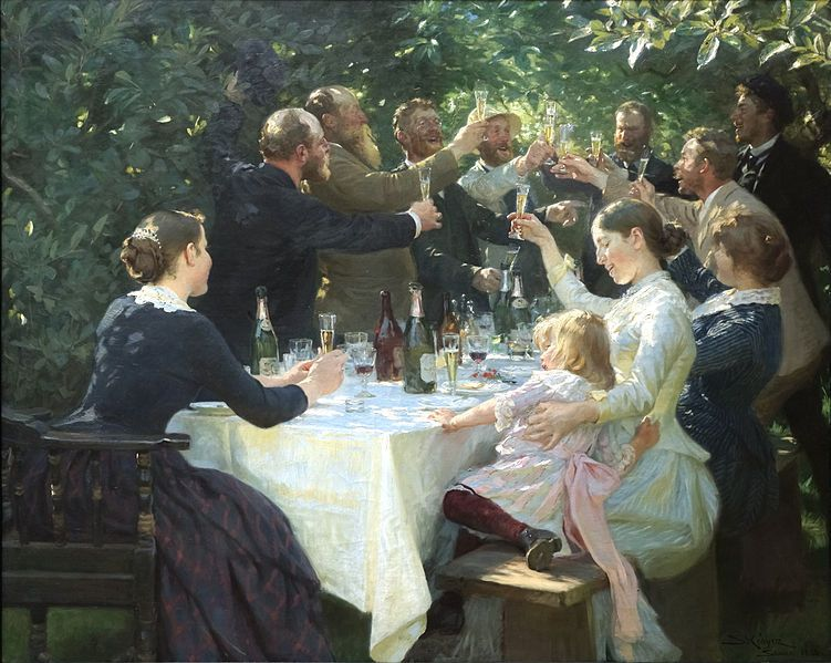 File:Hipp hipp hurra! Konstnärsfest på Skagen - Peder Severin Krøyer.jpg