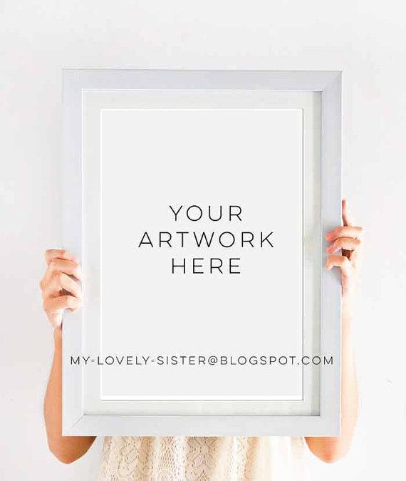 881f5226126d Art Print (A3 size) Portrait and Landscape Mock Up Frame Stock Photography…