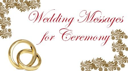 The wedding wishes for ceremonies can be sent through cards or the wedding wishes for ceremonies can be sent through cards or through text messages for the m4hsunfo