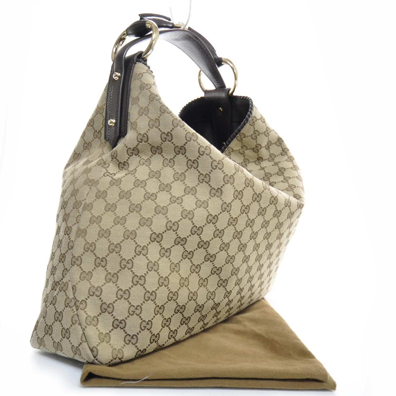 42d94ebd8d80 GUCCI Monogram Large Horsebit Chain Hobo | BAGS | Gucci monogram ...