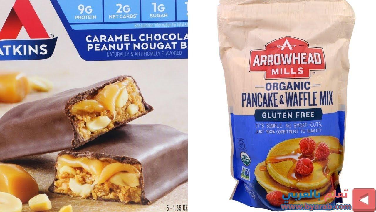 مفضلات متابعين عبدالمجيد الجبر من موقع اي هيرب مع التعليق على كل منتج Waffle Mix Organic Pancakes Snack Recipes
