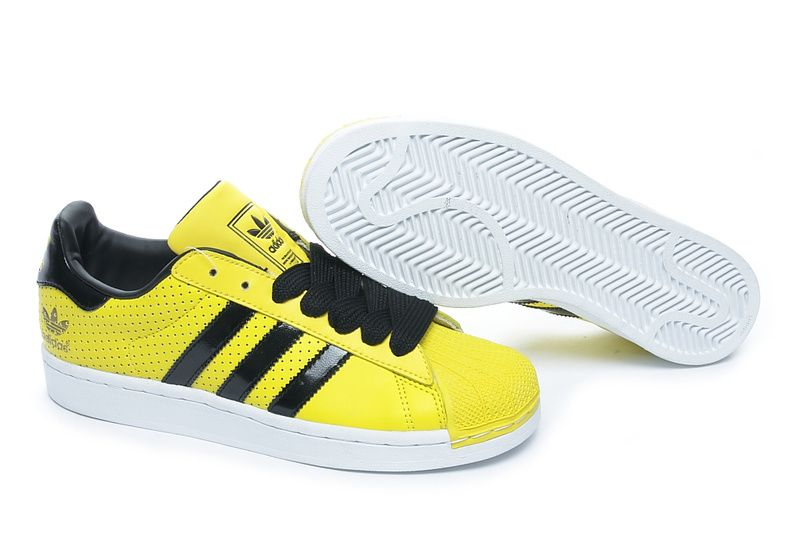 separation shoes 2dc8c 287f5 Adidas Superstar 2 Yellow Black 2011 663988