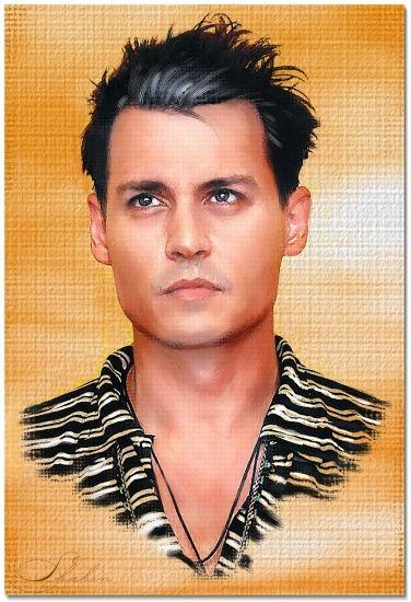 Johnny depp by shahin celebrities movie stars pinterest portraits dessin and artiste - Dessin johnny depp ...