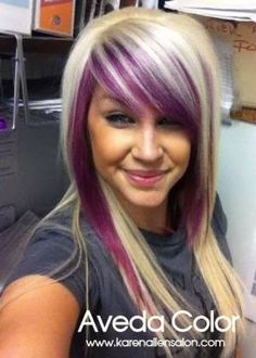 Purple and blonde pinteres hair coloring purple and blonde more pmusecretfo Choice Image