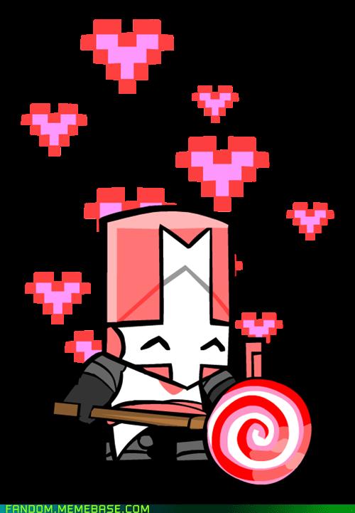I M Coming Princess Castle Crashers Pink Castle Concept Art Characters