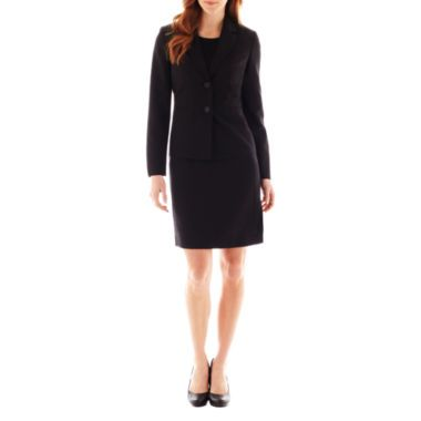 b2751a87b25 Black Label by Evan-Picone Crewneck Dress or 2-Button Jacket found at   JCPenney