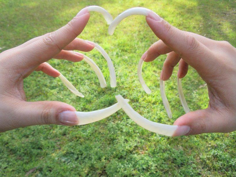 Uñas naturales largas Natural nails | Uñas naturales | Pinterest ...