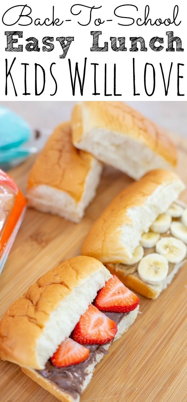 Mini Sub Rolls Back to School Lunch Ideas - Simply Today Life