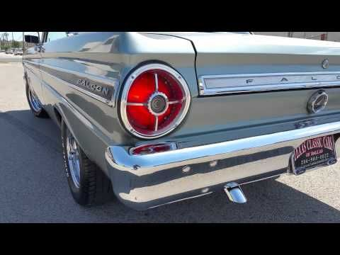 1965 Ford Falcon Sprint 289 Classic Youtube In 2020 Ford Falcon Ford Classic Cars