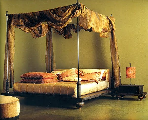 Design Ideen Himmelbetten grün schlafzimmer Selber machen - schlafzimmer selber machen