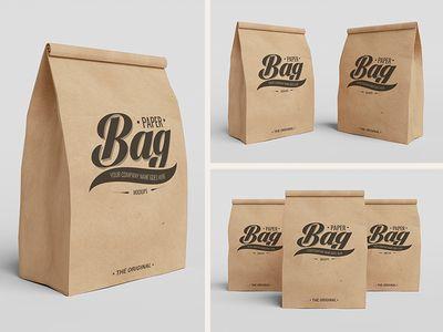 Download Free Paper Bag Mockups Paper Bag Design Bag Mockup Paper Bag