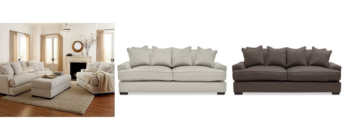 Sensational Ainsley Fabric Sofa Only At Macys Couches Sofas Machost Co Dining Chair Design Ideas Machostcouk