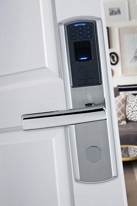 Fingerprint Door Lock Stainless Steel Keyless Fingerrpint Biometric Door Lock M100 Keyless Door Lock Smart Door Locks Digital Door Lock