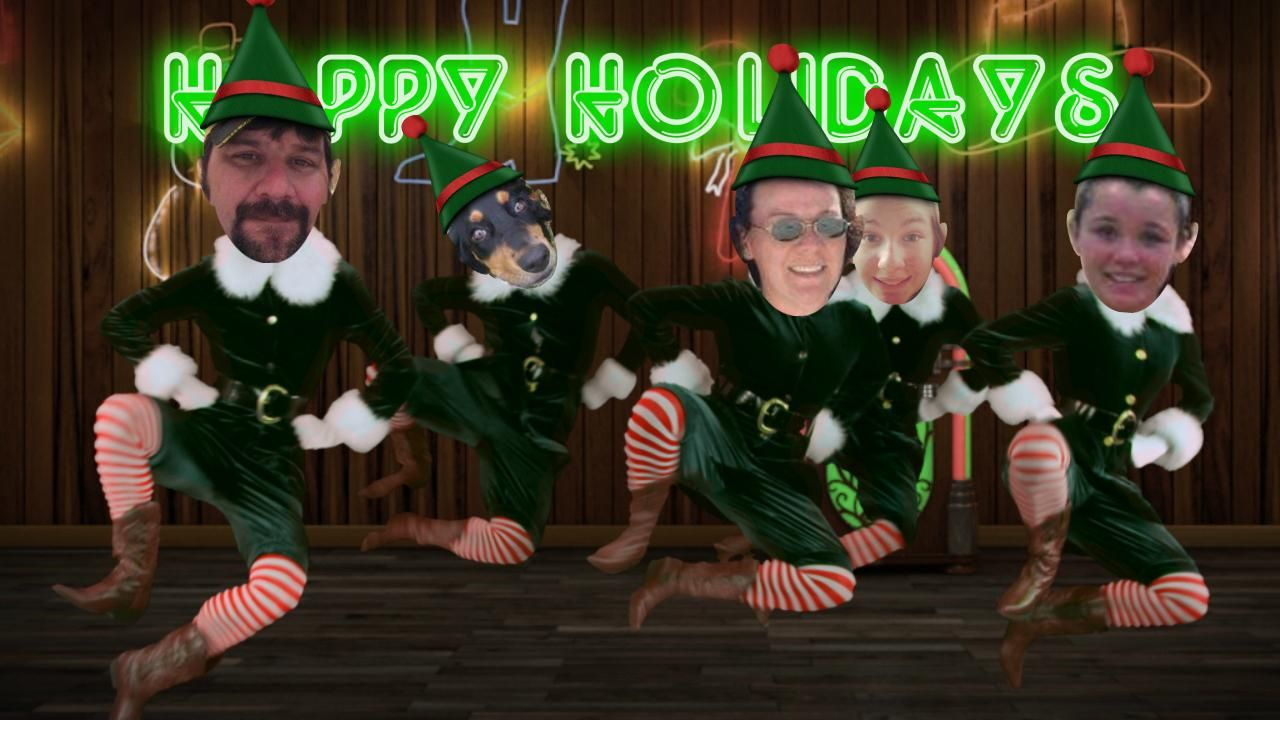 Send A Hilarious Personalized Elf Dance Ecard Starring Up To 5 Of Your Friends Family Co Workers Only At Jibjab Click Here Elf Dance Hilarious Dance