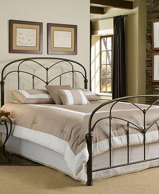 Tamara Hazelnut California King Bed Metal Bed Frame Bed Styling Bed Furniture King Metal Bed
