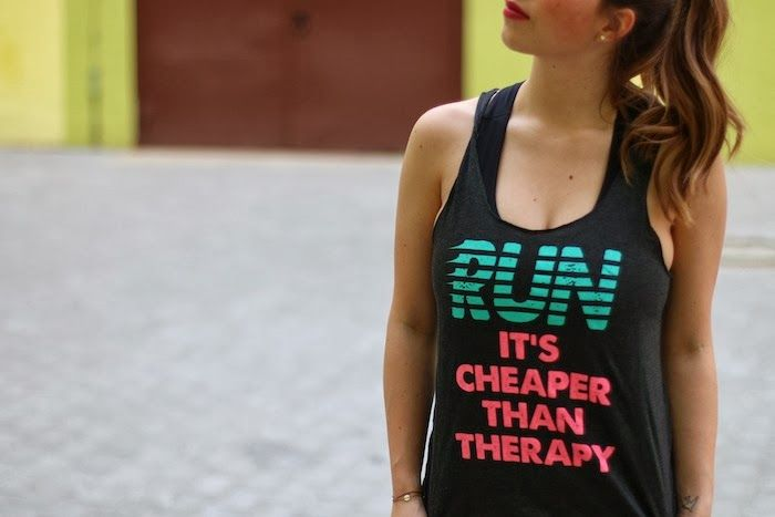 *Style - Roulette* - Münchner Mode & Lifestyle Blog: Run - It's Cheaper Than Therapy (Sport Outfits von TKmaxx)