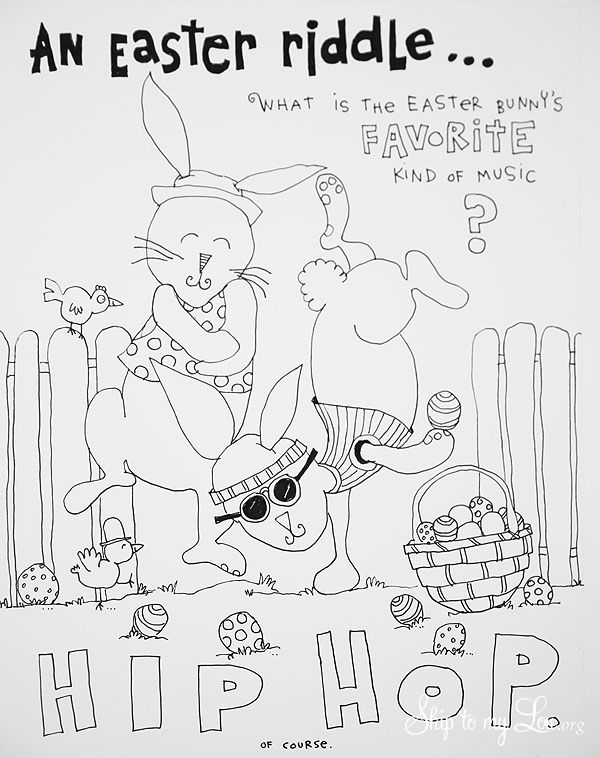 Free Printable Easter Coloring Page The Perfect Craft For Kids Table Or Just