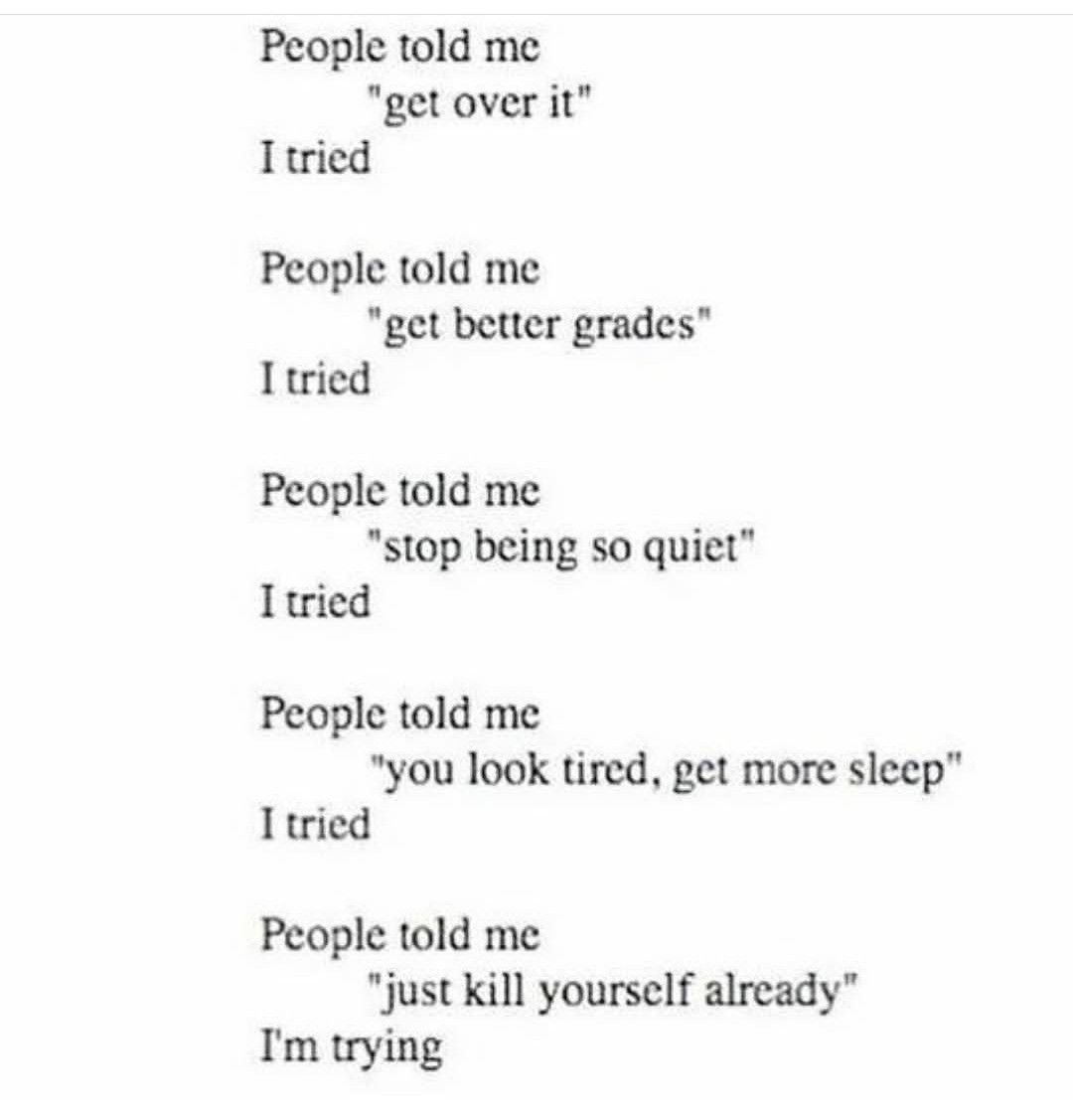 Killing Yourself Quotes Pinlili M On Quotes  Pinterest  Qoutes Thoughts And Mental