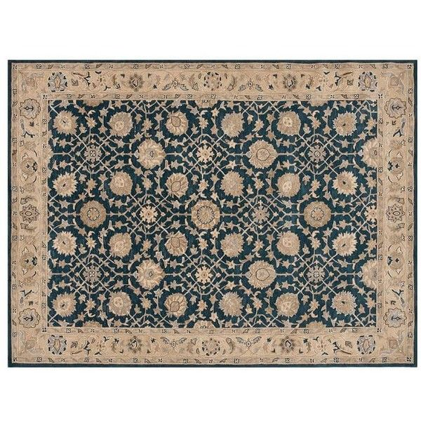 Pottery Barn Madeline Persian Rug 1 199 Liked On Polyvore