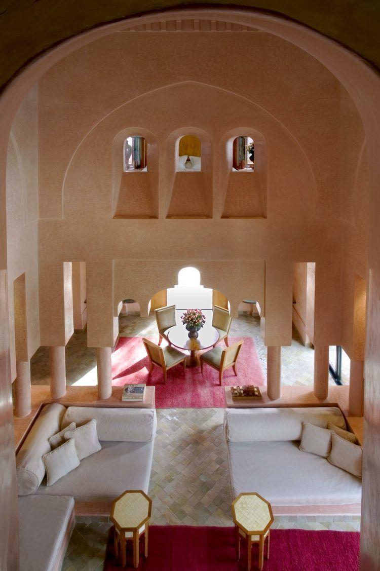 Modèle de salon marocain moderne: quelques idées d\'inspiration | Salons